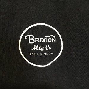 BRIXTON MFG CO graphic tshirt men's Medium